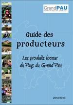 Image illustrant D�couvrez le Guide des producteurs 2012/2013 � Les produits locaux du Pays du Grand Pau !